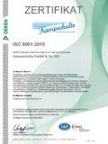 Zertifikat Qualitätsmanagement 2018 - 2021